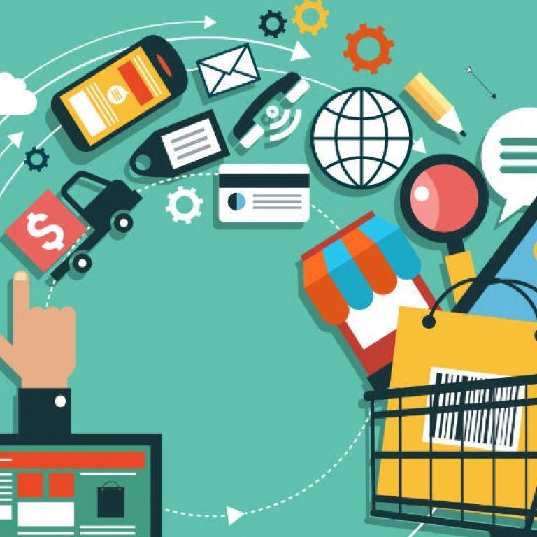 Publicidad digital y aumento del uso de compras online.
