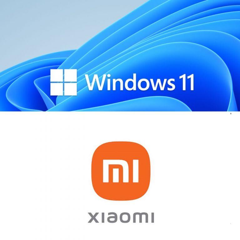 Xiaomi puede correr Windows 11 y ambos son compatibles