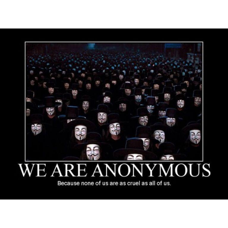 Anonymous atacó 70 sitios de agencias policiales de los EEUU