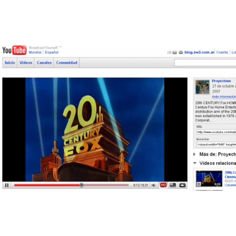 YouTube recaudó u$s10.709 en 10 días por alquiler de películas.