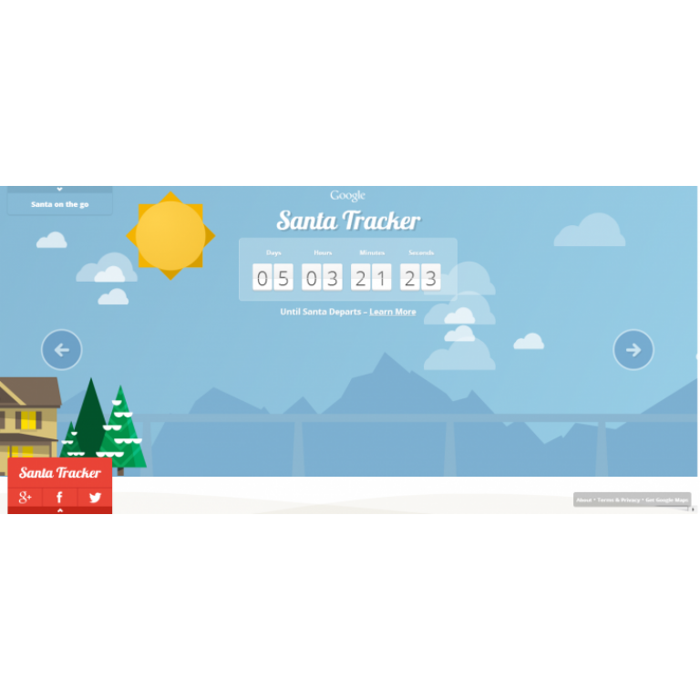 Google rastreará a Santa Claus