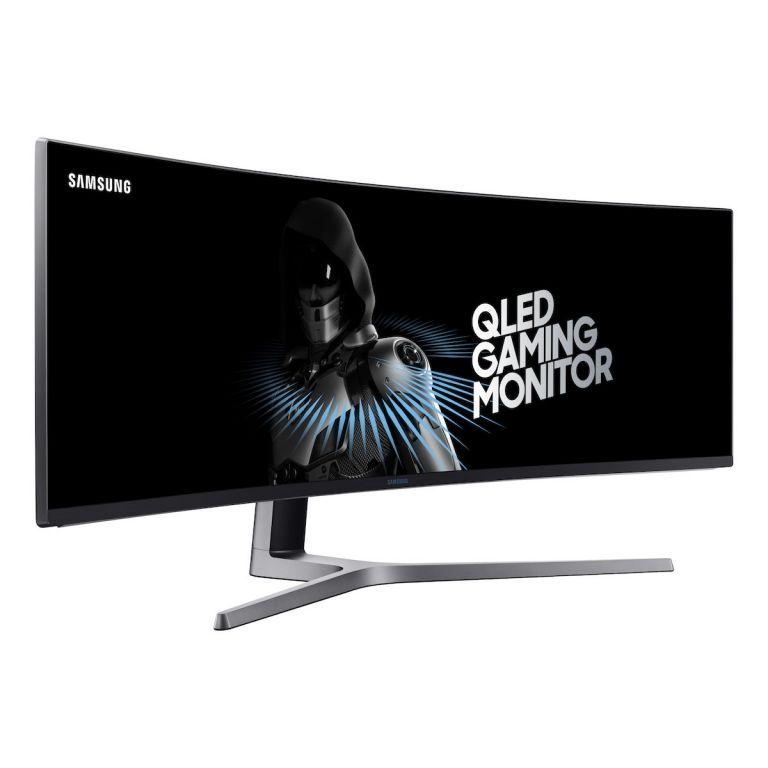 Samsung anunció un gigantesco monitor curvo para gamers