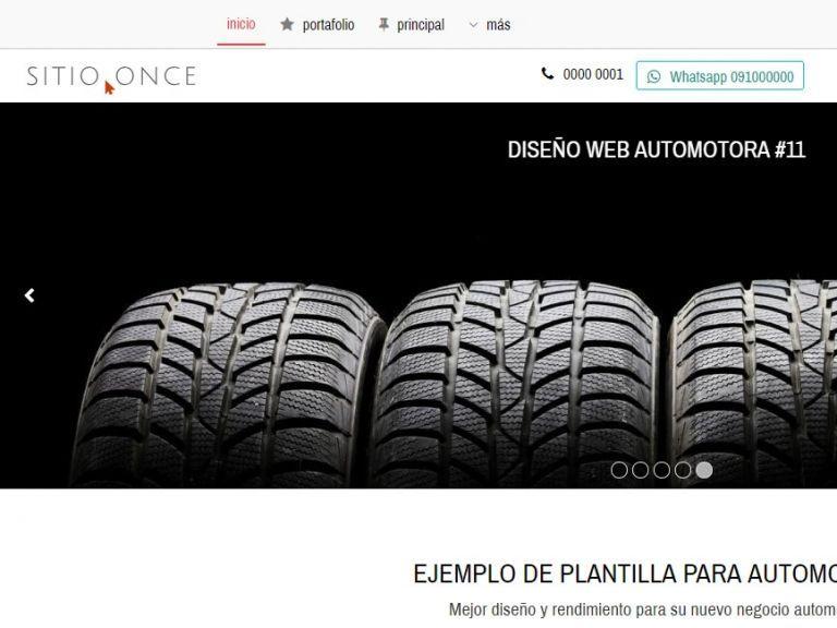 Diseño sitio web automotora rentadora - AUTOS 11 . Diseño sitio web automotora rentadora