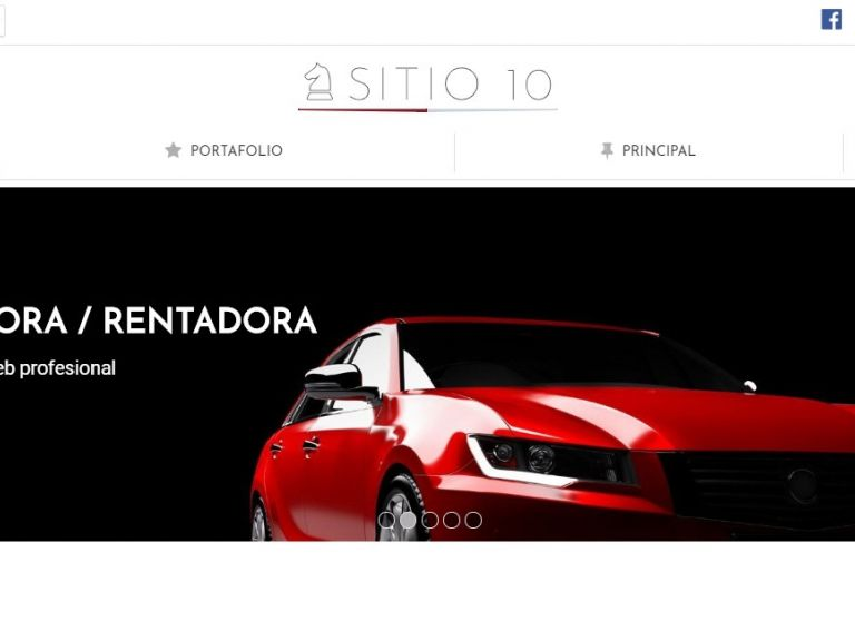 Diseño de sitio web para automotores rentadora, plantilla número 10. - AUTOS 10 . Diseño sitio web automotora rentadora